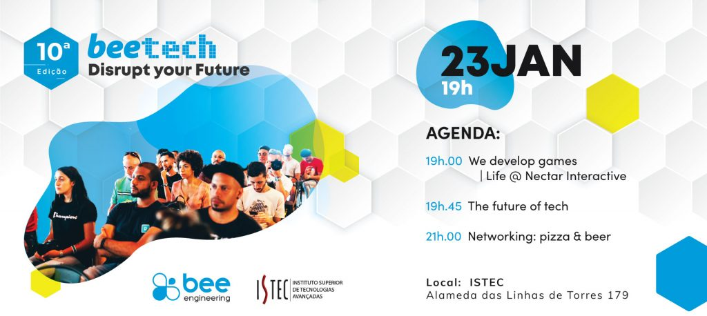 Bee Tech no ISTEC a 23 de janeiro