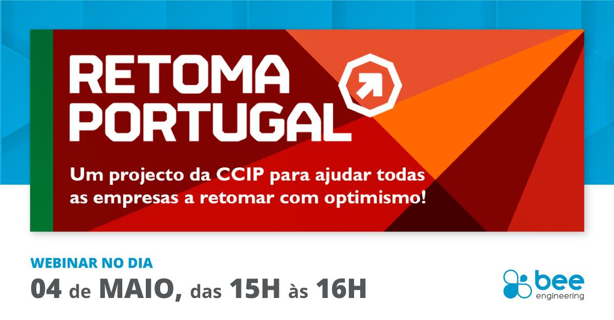 Webinar Bee Engineering no programa Retoma Portugal da CCIP