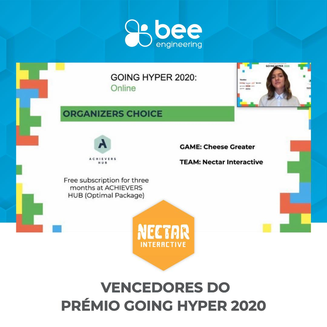 Nectar Interactive awarded at GOING HYPER 2020: Online Hyper Casual Game Jam